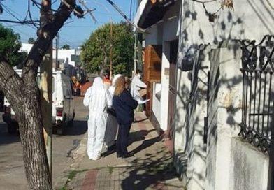 PREVENCIÓN DEL DENGUE: CONTINÚAN LAS TAREAS DE FUMIGACIÓN Y DESINFECCIÓN EN LOS BARRIOS