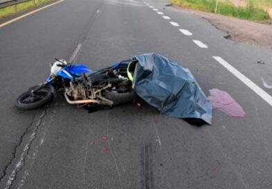 ACCIDENTE FATAL: FALLECE UN HOMBRE PRODUCTO DE UNA CAÍDA EN MOTO