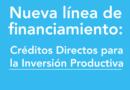 Nueva línea de financiamiento para la inversión productiva PyME