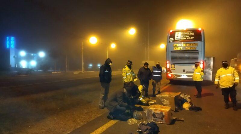 Policía Caminera: exitoso operativo con seguimiento y vigilancia de encomiendas